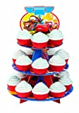 Wilton 3 Tier Cars-Cupcake Stand