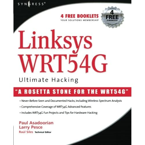 Linksys WRT54G Ultimate Hacking