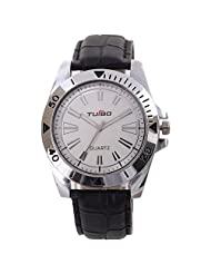 Turbo Youth Analogue White Dial Men's Watch - R105-001S