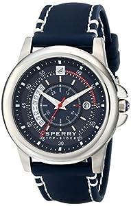 Sperry Top-Sider Men's 10018149 Skipper Analog Display Japanese Quartz Blue Watch by Sperry Top-Sider Watches MFG Code