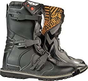 Fly Racing Youth Maverik Boots - 3 US Youth/Black