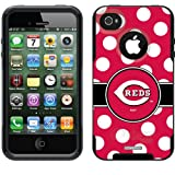 Cincinnati Reds – Polka Dots design on a Black OtterBox® Commuter Series® Case for iPhone 4s / 4 Reviews