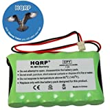 HQRP Battery compatible with Ademco Honeywell LYNX Voice, LYNXR, LYNXR24, LYNXR24-SP Security System plus HQRP Coaster