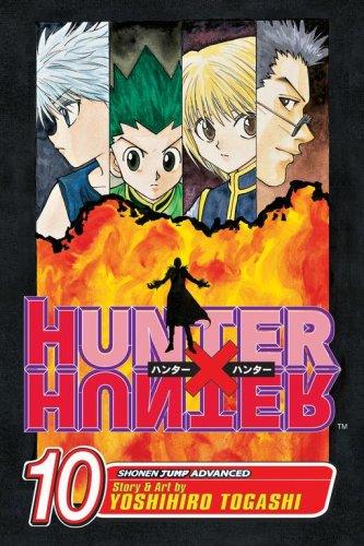 HUNTER×HUNTER ハンターハンター コミック10巻 (英語版)