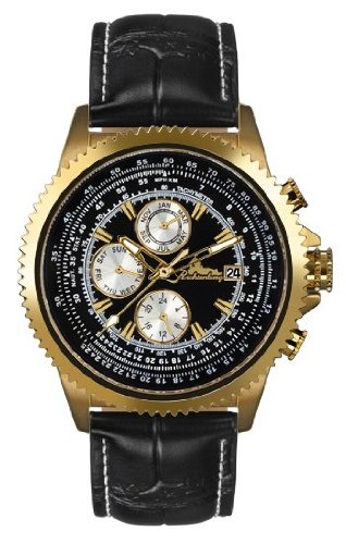Richtenburg Montre Homme Panama noire or IP R10800