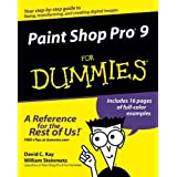 Paint Shop Pro 9 For Dummiesby David C. Kay