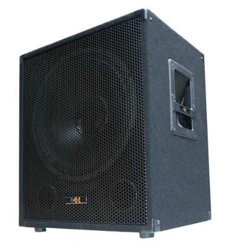 600W-DJ-PA-Subwoofer-Box-15-Passiv-Bass-Lautsprecher-E-Lektron-SUB-P38