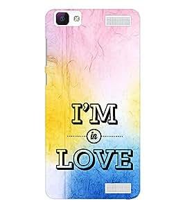 EPICCASE am in love Mobile Back Case Cover For Vivo V1 Max (Designer Case)
