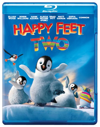 Cover art for  Happy Feet Two Blu-Ray/DVD Combo (+ UltraViolet Digital Copy) [Blu-ray]