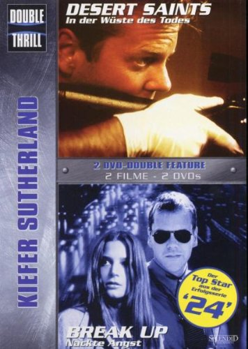 Kiefer Sutherland 2er Box - Double Thrill: Desert Saints - Break up [2 DVDs]