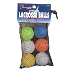 Champion Sports Official Lacrosse Ball Set by Champion Sports