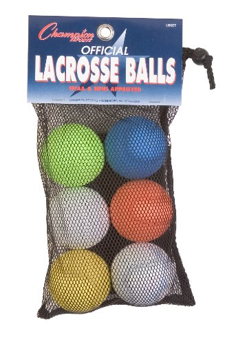 Champion Sports NCAA Approved Official Lacrosse Ball Set