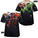 Marvel Comics Men's Into The Fray Sublimated T-Shirt