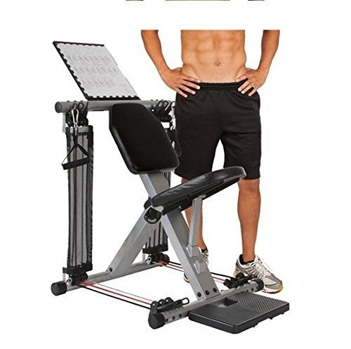 Flex-Force-50-in-1-Resistance-Chair-Gym-Complete-Workout-System-Home-Gym