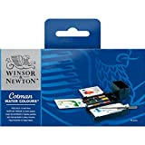 Winsor & Newton Cotman Water Color Field Box Set of 12 Half Pans