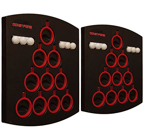 Best Deals! Oche Pong - Balls to the Wall Beer Pong, Two Board Set