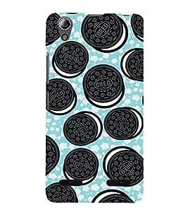 Cookies 3D Hard Polycarbonate Designer Back Case Cover for Lenovo A6000 :: Lenovo A6000 Plus :: Lenovo A6000+