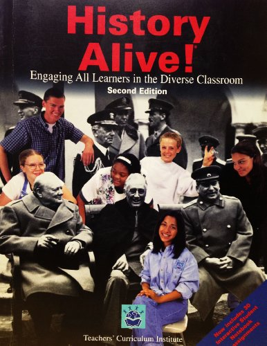History Alive!: Engaging All Learners in the Diverse Classroom