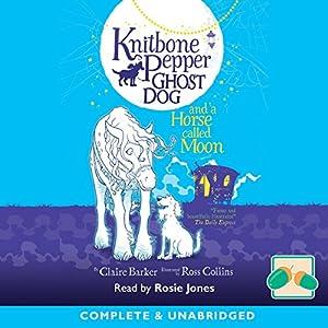 Knitbone Pepper Ghost Dog and a Horse Called Moon Hörbuch von Claire Barker Gesprochen von: Rosie Jones
