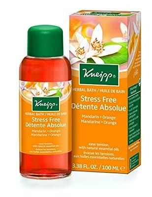 Kneipp Mandarin & Orange Stress Free Bath Oil, 3.38 fl. oz.