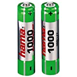 Hama 2x AAA NiMHÂ Rechargeable Battery
