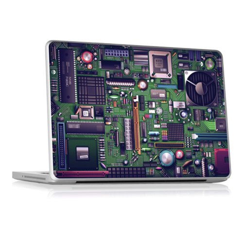 GELASKINS 13インチ Apple Unibody Laptops (Pro, MacBook, 1st Gen. Air) 対応 保護スキンシール 【Motherboard】 MAC13-UNI-LAP-0245