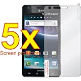 5x Samsung Infuse 4G i997 Mobile Phone Professional Screen Guard Film Kit, No cutting, Perfect fit with Full Protection!