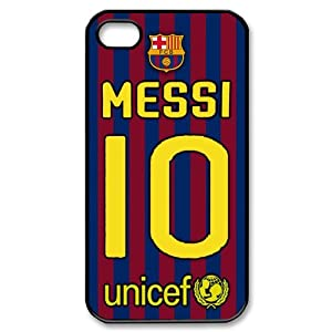Amazon.com: Top Iphone 4 4s Case FC Barcelona Lionel Messi Iphone 4 4s