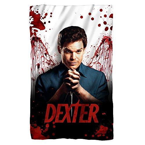 Blood Never Lies -- Dexter -- Fleece Throw Blanket