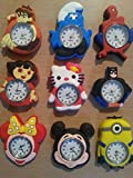 Character Loom Watch 200 Bands/2 Hooks/Clips Loom Bands - Minnie Mouse Head