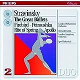 Stravinsky : L'Oiseau de feu - Pétrouchka - Le Sacre du printemps - Apollon Musagète
