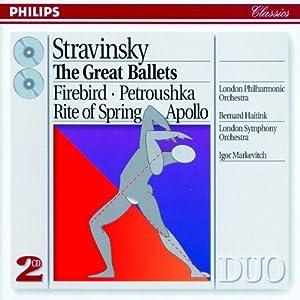 Stravinsky: The Great Ballets - Firebird / Petrouska / Rite of Spring / Apollo