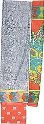 Haya Creations Women's Cotton Dress Material (2231, Grey)