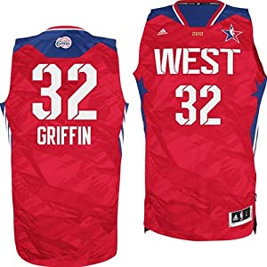 Buy Blake Griffin 2013 NBA All Star Los Angeles Clippers Swingman Stitched Letters & Numbers Mens Jersey by adidas