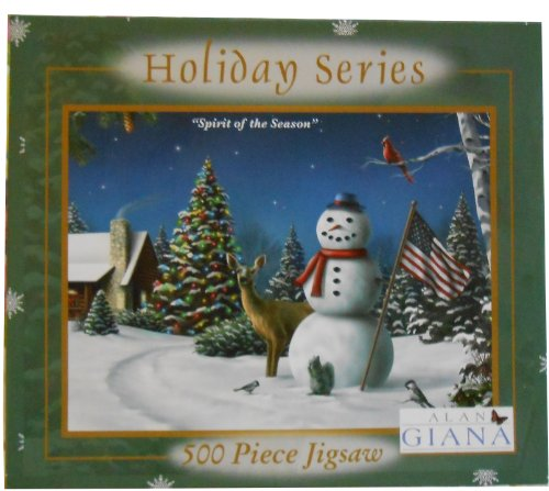 "Alan Giana Holiday Series ""Spirit of the Season"" 500-piece puzzle"