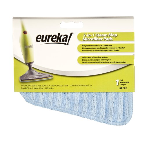 Eureka 68154 Microfiber Mop Pad For 2-In-1 Steamer (Single-Pack) front-155259