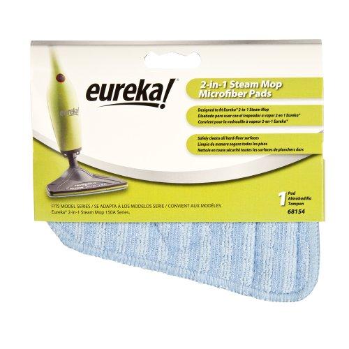 Eureka 68154 Microfiber Mop Pad For 2-In-1 Steamer (Single-Pack)
