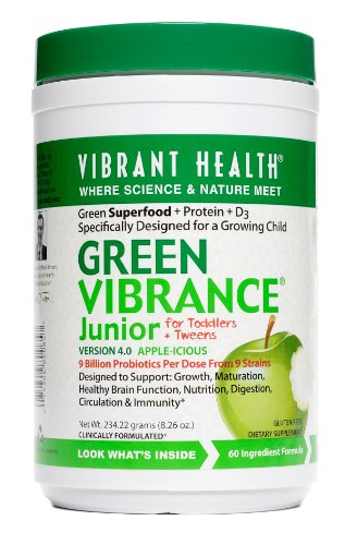 Vibrant Health - Green Vibrance Junior + D3 8.26 Oz