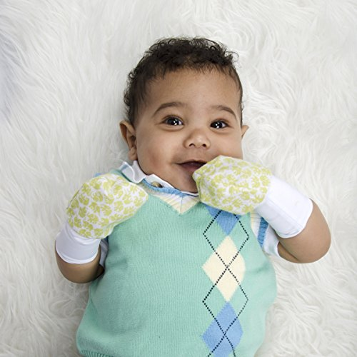 The innovative Munch Baby Munch Mitt Baby Teething Mitten is a clever teether for your baby that she can't drop because it fits on her hand like a mitten. The nubby food-grade silicone provides stimulation and soothing relief to your baby's sore gums.