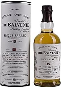 The Balvenie Single Barrel 15 Year Old  Malt Whisky - 70cl