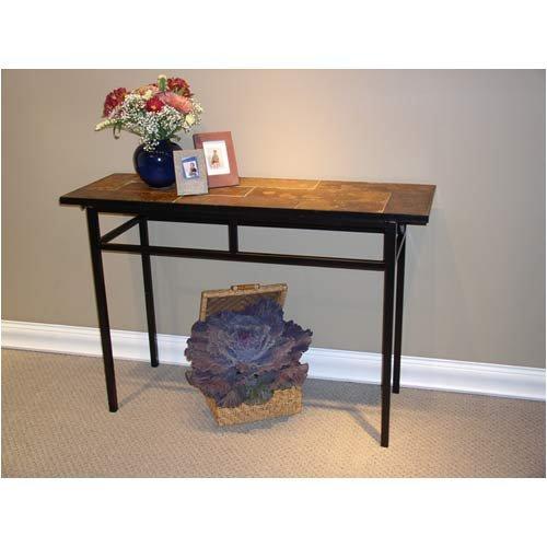 Slate And Glass Coffee Table For Sale: SLATE GLASS STEEL COFFEE TABLE