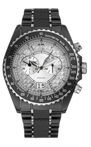 Guess Collection Sport Class 46001G1 - Reloj de mujer de cuarzo, correa de acero inoxidable color negro