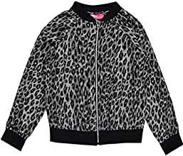 Star Ride Big Girls39 quotLeopard Sateenquot Jacket