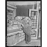 Photo: Tobacco,candy counter. General store. Lamoille,Iowa