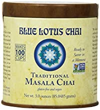 Blue Lotus Traditional Masala Chai - Makes 100 Cups! (3oz)