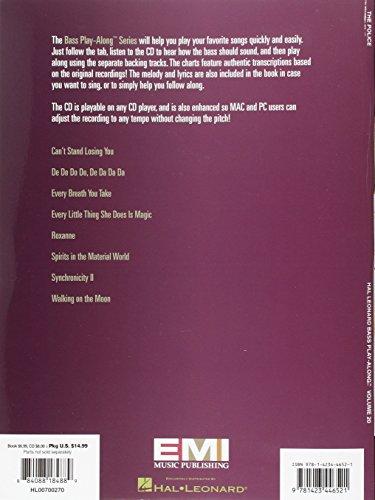 Bass Play Along Vol.20 Police Tab CD