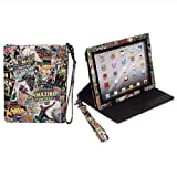 Brand new Marvel Comics Style iPad Case and Stand for Ipad (Styles May Vary)