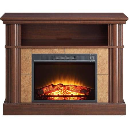 Better Homes and Gardens Cherry Media Fireplace for TVs up