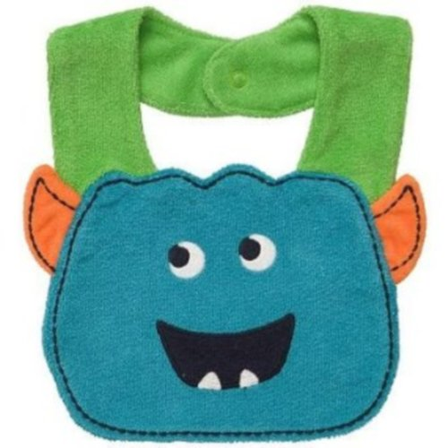 Carter's Monster Baby teething/feeding Bib, Boy - 1