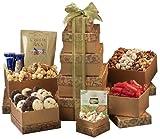 Gift Tower Deluxe, Gourmet Chocolate Birthday Gift Basket
